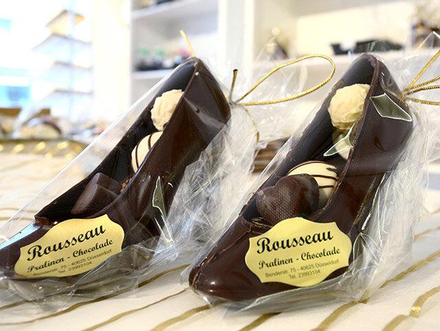 High Heels aus Schokolade